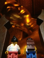 The Reclining Buddha at Wat Pho, one of Thailand's oldest and largest temples