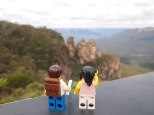 The famous Three Sisters at Echo Point