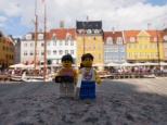 The brightly coloured New Harbour (Nyhavn)