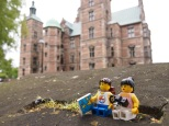 Stopping for a rest at Rosenborg Castle