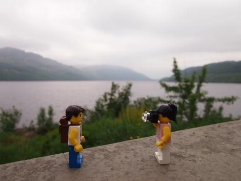 Final stop at Loch Lomond near Inveruglas