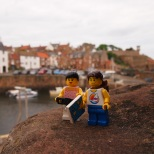 We stopped off in Crail on the way home