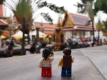 Outside Temple of the Emerald Buddha