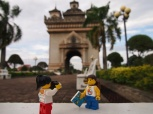Patuxai, known as Victory Gate, the city's Arc de Triomphe replica