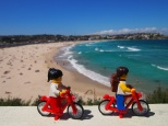 Cycling the Bondi to Coogee coastal route