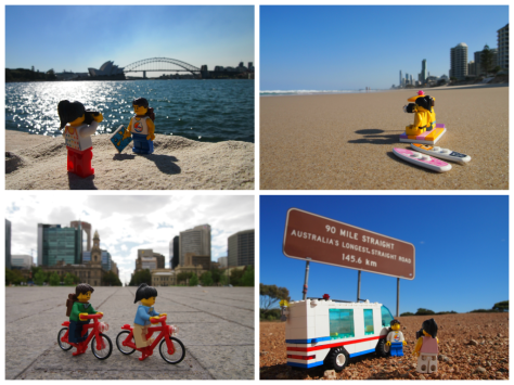 LEGO Travellers Photobook