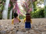 Heading through Southbank Park
