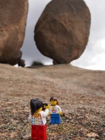 Exploring the large rocks