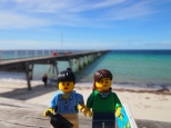 Stopping for a picture of the jetty at Tumby Bay