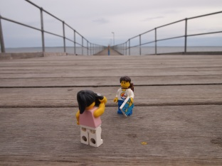 Ceduna jetty, quick picture before setting off on our long journey across the Nullarbor Plain